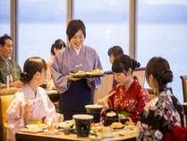 春の磯はなびダイニング 会席料理とミニビュッフェ式で揚げたて天麩羅を満喫あれ♪/ちょっと贅沢コース