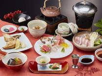 ☆【鰤会席】鰤しゃぶ&鰤大根など!人気の鰤料理をお気軽に◆冬の富山湾を見渡す絶景露天風呂も♪