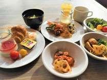 健康志向/朝食ブッフェ