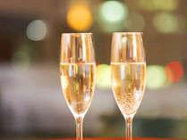 ふたりでゆっくりシャンパンをどうぞ。お部屋にご用意しておきます。,長野県,高原のお宿 スカイランドきよみず