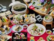 ☆赤穂新名物☆ 希少な牡蠣 なつ牡蠣会席☆活牡蠣を満喫!! 塩サイダープレゼント♪♪♪