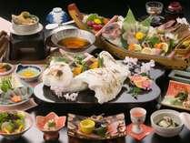 鯛と旬菜の塩釜会席