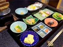 その日の和朝食
