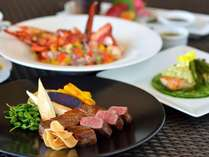 【龍潭】食欲をそそる香りと、素材本来の風味や旨味を味わえる鉄板焼コースディナー