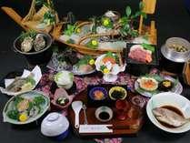 かんえい海幸会席料理例(贅沢御膳)