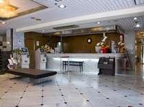 ロビー&フロント♪充実した環境に心のこもったおもてなし!安らぎを添えて24時間お客様をお迎え致します。