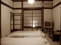 2名様用のお部屋です 写真のお部屋は、NHK総合テレビ「関西もっといい旅」にて紹介されました