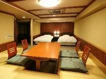 スタンダードルーム(2)富士山側露天風呂付客室 ユニバーサルデザイン(4名様定員)