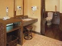 富士山展望【檜】貸切風呂のトイレ フルフラット