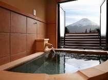 スタンダードルーム(5)富士山側露天風呂付客室 ユニバーサルデザイン(4名様定員)