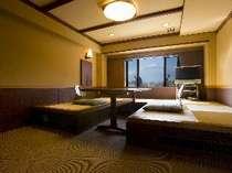 スタンダードルーム(1)富士山側露天風呂付客室 ユニバーサルデザイン(4名様定員)