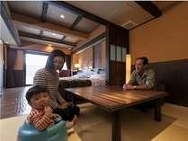 セミコンフォート(3)河口湖眺望露天風呂付客室 ユニバーサルデザイン(3名様定員)