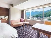 スタンダードツインは綺麗な山々を望めるお部屋もございます。,山梨県,甲府富士屋ホテル(2019年4月1日から甲府 記念日ホテル)