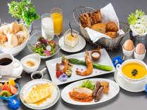 朝食バイキング中止時ご提供洋定食(イメージ)