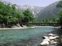 河童橋から望む絶景をお楽しみくださいませ☆.。.:*