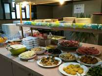 朝食会場の写真