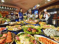 【一番人気】和洋中バイキング!シュラスコ・お寿司・パフェ・飲み放題!ファミリー・カップル・皆様に!
