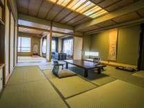 【特別室】ゆったりと寛げる特別室【12.5畳+6畳+広縁付】
