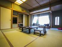 和室【12.5畳+広縁付き】ゆったりとくつろげる和室で日本情緒を心ゆくまで…