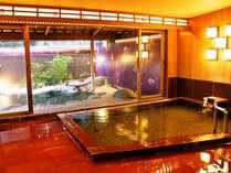 熱海温泉でも限られた源泉 染殿の湯(熱海市登録:166)です。美肌効果の泉質です。