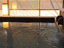 木造り大浴場「渓谷の湯」鬼怒川渓谷沿いでマイナスイオンを感じながら温浴できます