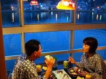 呼子港の夜景もごちそう♪