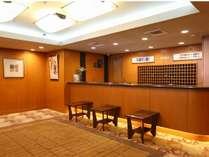 ◆フロントデスク 当館2階でございます