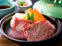 新鮮な魚介だけでなく、三重県のブランド牛「松阪牛」も頂けるプランもオスス★