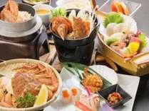 【毛がにづくし】三陸・宮古で旬の「毛がに」を堪能!ご夕食はレストランで和食膳プラン