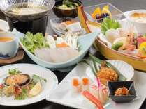 【冬季限定】宮古「冬の味覚膳」ご夕食はレストランで和食膳プラン~鱈ちり鍋と鮑のステーキ付き