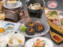 【ウニづくし膳】北三陸の贈り物!キタムラサキウニを存分に味わう 和食膳プラン