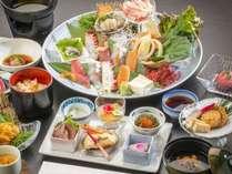 三陸の旬を用いた和食膳 イメージ