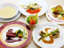 選べるフレンチディナーコース~金谷ホテル伝統のフランス料理をご堪能下さい