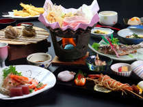 *スタンダード◆信州の新鮮な旬の食材をふんだんに使ったお料理(季節によって鍋または陶板焼き)