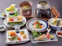 ≪料理グレードアップ≫川魚&阿波牛・阿波尾鶏を使用!料理人が腕を揮う厳選会席に舌鼓