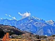 ★【登山・トレッキング】日本百名山『甲斐駒ヶ岳の登山口まで送迎!朝食をおにぎりに変更も可■1泊2食付
