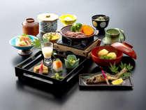 【スタンダード】山の滋味を味わう!瑞々しい山菜&清流名物「岩魚の囲炉裏焼き」付会席