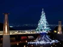 山床カフェでのクリスマス