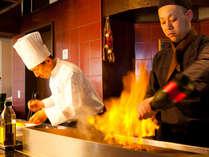 【早割30】レストランゐきりで粋なご夕食★選べるメイン(牛or魚介)