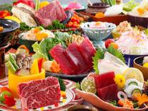 【週末直前割/1月14日限定】土曜日も平日料金でお得♪★メインの鉄板焼を牛or魚介からチョイス!