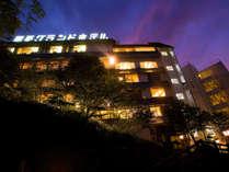 【琴平グランドホテル 桜の抄】参道22段目に佇む温泉宿