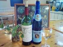 どちらか選んで!【ワイン飲み放題OK】フランス産の赤かドイツ産の白♪