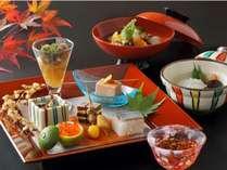 四季によって変わる創作会席料理 御料理一例イメージ