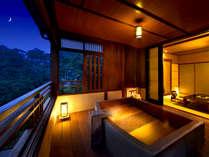 【守田屋のお部屋】旅のスタイルに合わせた個性的な9室の露天風呂付客室をご用意しております。