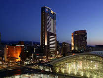 北陸随一の高さを誇る、金沢で一番夜景がきれいな30階建ての高層シティホテル