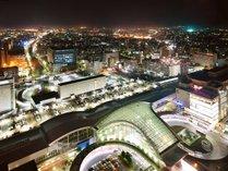 ごゆっくりと金沢の夜景を眺めながら、ホテルステイをお楽しみください!!(夜景一例)