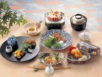 【懐石料理】旬の食材を京風の薄味で仕立てております