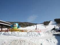 白樺国際スキー場、スキーヤーオンリー!ゴンドラリフト、一枚バーン、ファミリーエリヤが充実。