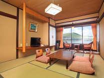 ・目の前に白樺湖 見晴らしの良い お部屋 トイレ付 【本館和室】
