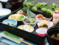 朝食一例◆美味しいお米に合う品々を、栄養バランスを考え提供しております